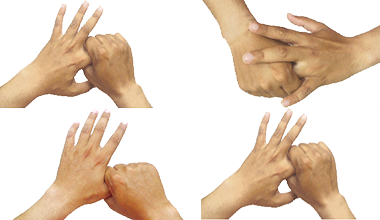 Stimulated Kinesthetic Finger Massage